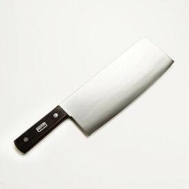 さびるが切れる!◆ハガネ製高級 中華包丁220mm