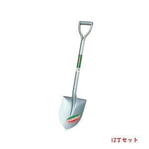 トンボ シルバーRG丸型 スコップ 12本組 シャベル ショベル まとめ買い 送料無料
