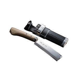 ◆本場土佐◆火造り鉈『極上』【腰ナタ両刃】青紙鋼並幅150mm