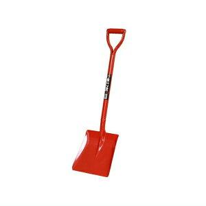防災用 ・ 消防団に最適!◆ JIS ◆赤いスコップ角型 シャベル ショベル 雪かき 除雪