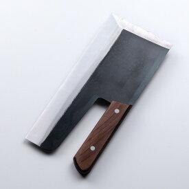 本格サイズ 全鋼 麺切り包丁 300mm 左利き用 【そば切り包丁 そば打ち道具 ソバ切り包丁 そば ソバ うどん】