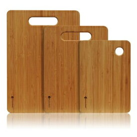 ★PREMIUM BAMBOOプレミアムバンブー★竹製まな板(3サイズの1セット)