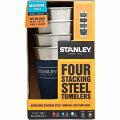 ★STANLEYスタンレー★【クラシックシリーズ】スタッキングスチールタンブラー354ML(×4)セット【送料無料】