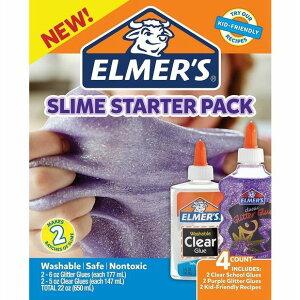 ★ELMER'S エルマーズ★スライムスターターパック(スライム作成用グルーセット)
