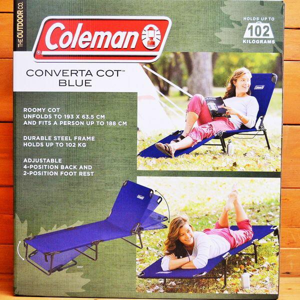 ★COLEMANコールマン★コット(サマーベッド、簡易ベッド、キャンプベッド、折り畳み式ベッド)