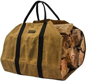 ★READYWARESSUPPLYレディウェアズサプライ★ワックスキャンバスファイヤーウッドキャリアー(薪運搬用バッグ)