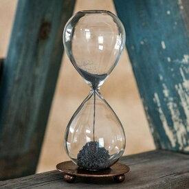 磁石を使った砂時計!HOUR GLASS WITH MAGNET AND TRAY
