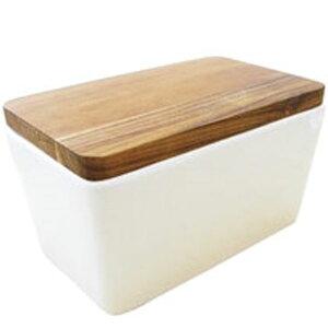 まな板としても使えるバターケース!ロクサン バターケース Lサイズ【バターケース 収納 まな板 キッチン キッチングッズ プレゼント プチギフト にも!】