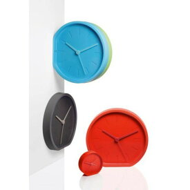 """壁掛け&置き時計! """"LEXON""""SIDE CLOCK(LR123)【新生活】【一人暮らし】【家具】"""