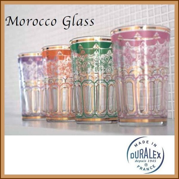 """DURALEX""Morocco Glass(モロッコグラス)"