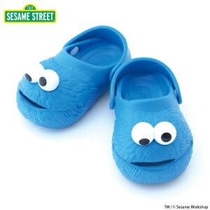 """SESAME STREET""シリーズ! ""POLLIWALKS""Cookie Monster(クッキーモンスター) 【サンダル】【キッズ】【ポリウォークス】【キッズ サンダル】"