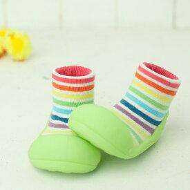 赤ちゃんを守る安心のベビーシューズ!Attipas(アティパス)Rainbow(レインボー)