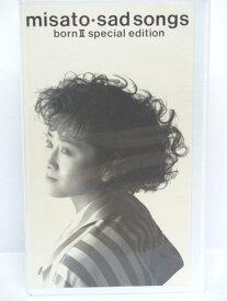 #1 04336【中古】【VHSビデオ】misato-sadsongs born2 special edition