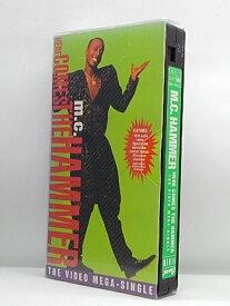 H1 01980【中古・VHSビデオ】字幕版「M・C・ハマー ヒア・カムズ・ザ・ハマー THE VIDEO MEGA-SINGLE」