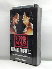 H1 02977【中古・VHSビデオ】英語版「WBC世界スーパーミドル級タイトルマッチ レナードVSデュラン3」