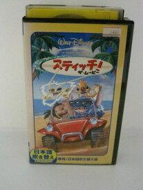 H5 00006【中古・VHSビデオ】【日本語吹替版】「スティッチ ザ・ムービー」2003年製作。カラー・約60分。