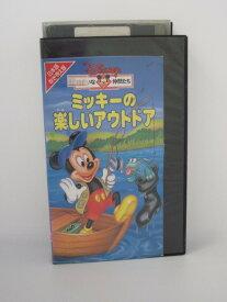 H5 01888【中古・VHSビデオ】「ミッキーの楽しいアウトドア(日本語吹替版)」