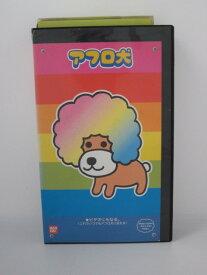 H5 01901【中古・VHSビデオ】「アフロ犬」監督/今西隆志 声の出演/加藤精三他。