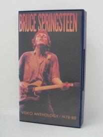 H5 03652【中古・VHSビデオ】「BRUCE SPRINGSTEEN VIDEO ANTHOLOGY/1978-88 ブルース・スプリングスティーン」