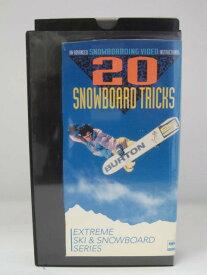 H5 07099【中古・VHSビデオ】「20スノーボード・トリックス」