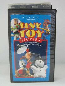 H5 07398【中古・VHSビデオ】「TINY TOY STORIES 」字幕版