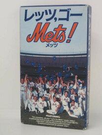 H5 08022 【中古・VHSビデオ】「レッツ,ゴー Mets!」 デイブ・ジョンソン/ゲーリー・カーター/キース・ヘルナンデス 字幕版