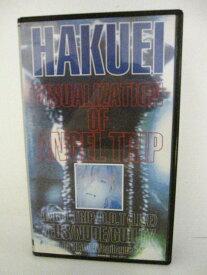 H5 08899【中古・VHSビデオ】「HAKUEI VISUALIZATION OF ANGEL TRIP」