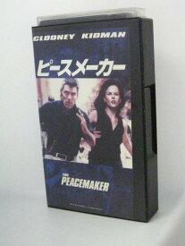 H5 09672【中古・VHSビデオ】字幕版「ピースメーカー」監督:ミミ・レダー 出演:ジョージ・クルーニー 他。