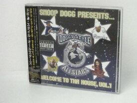 H4 11140【中古CD】「スヌープ・ドッグ・プレゼンツ~ウェルカム・トゥ・ザ・ハウス vol.1」ドギー・スタイル・オールスターズ