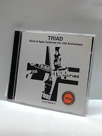 H4 11353【中古CD】「TRIAD Rock of Ages Celebrate the 15th Anniversary」Various Artists オムニバス。
