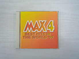 G1 32348【中古CD】 「MAX4 BEST HITS IN THE WORLD '97」