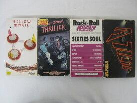 HVS01134 【送料無料】【中古・VHSビデオセット】「●イエロー・マジック・オーケストラ●メイキング マイケル・ジャクソン「THRILER 」●SIXTIES SOUL ●ウルフルV 「ULFULS」 全4本セット」