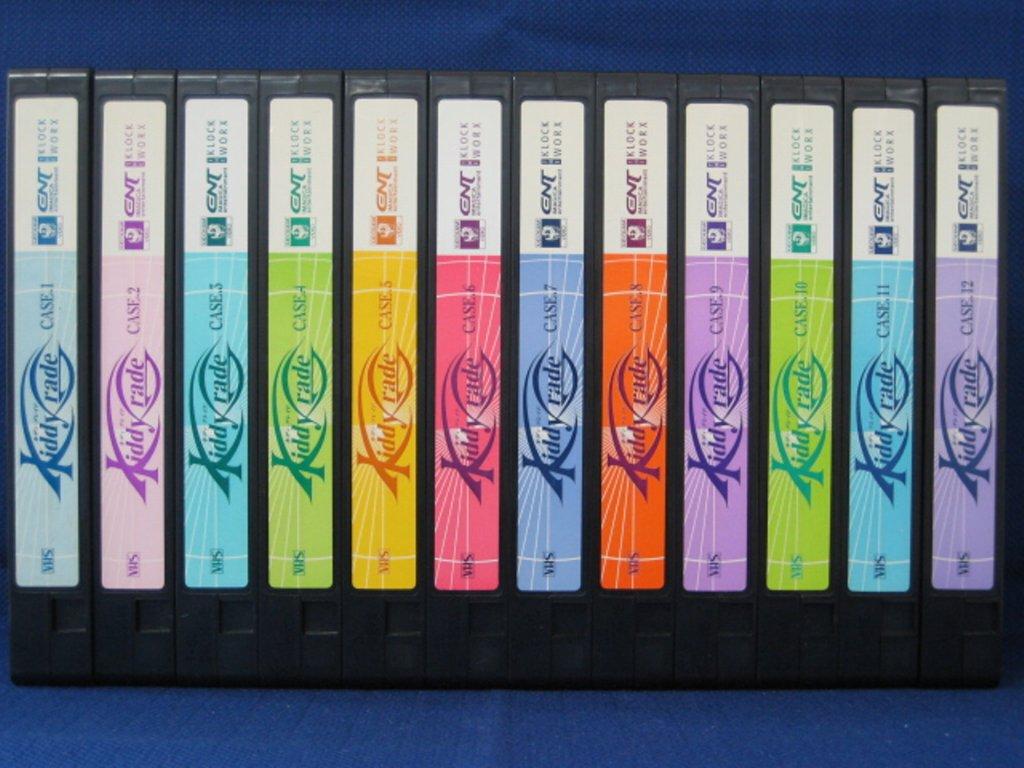 RS_176【中古】【VHSビデオ】キディ・グレイド全12巻セット