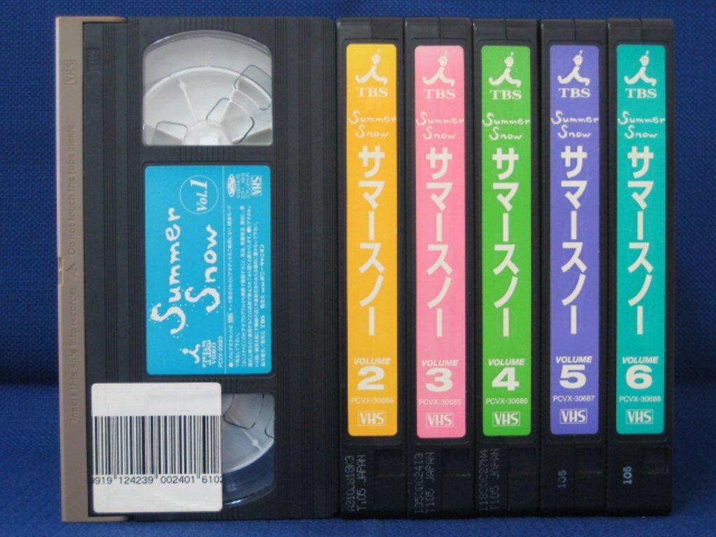 RS_187【中古】【VHSビデオ】SUMMER SNOW全6巻セット