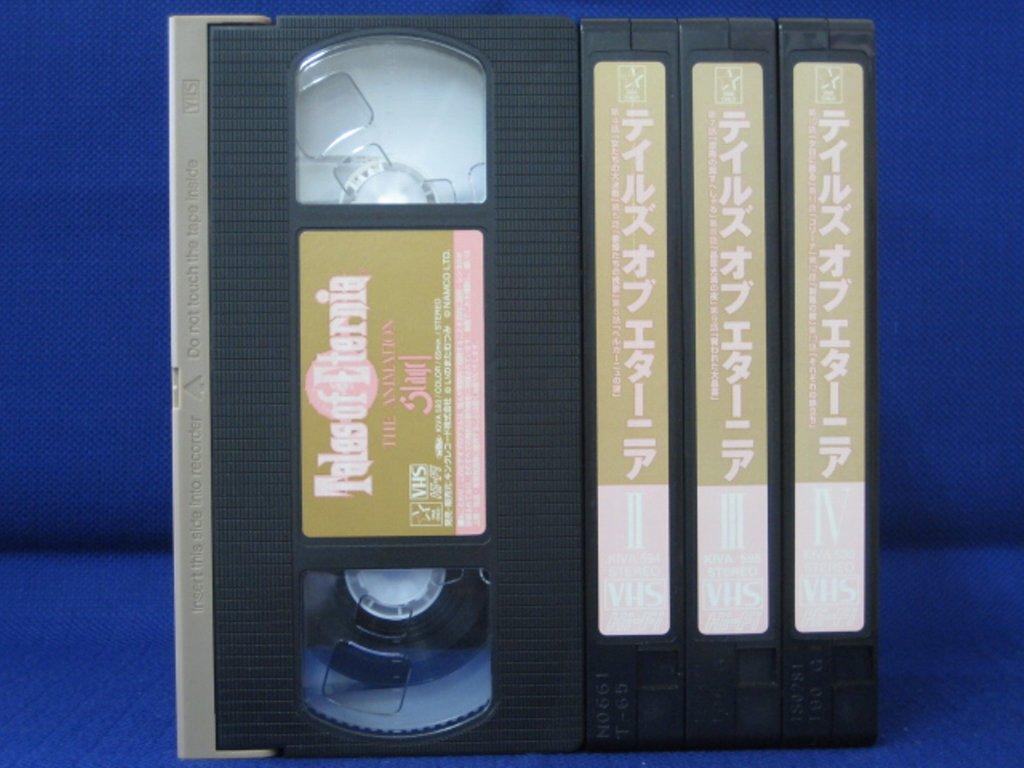 RS_188【中古】【VHSビデオ】Tales of Etenia全4巻セット