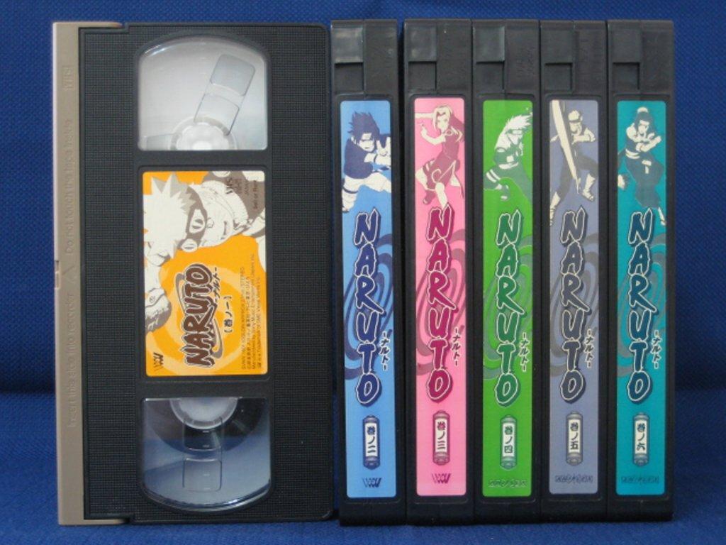 RS_189【中古】【VHSビデオ】NARUTO 1巻〜6巻 6本セット