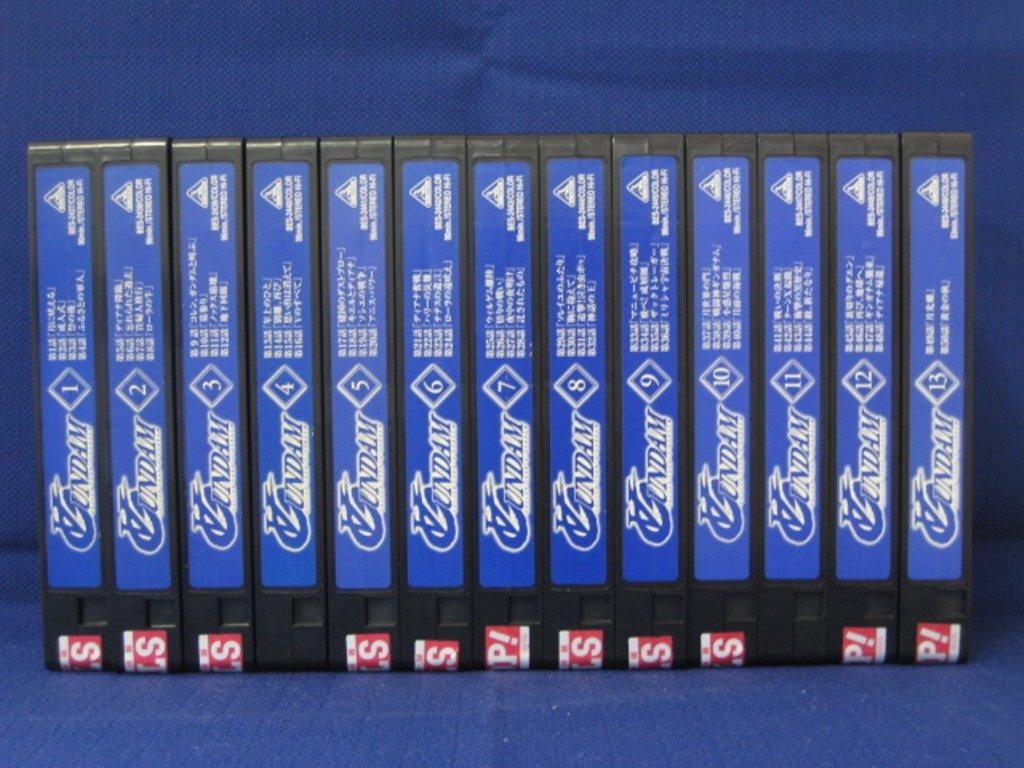 RS_192【中古】【VHSビデオ】∀ガンダム ターンエーガンダム 全13巻セット