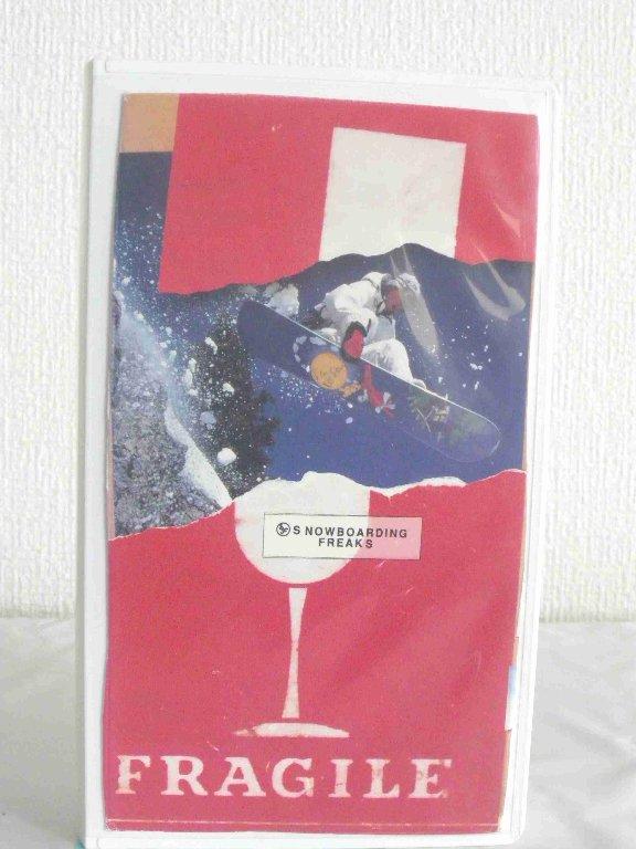 #1 35223【中古】 【VHSビデオ】FRAGILE SNOWBOARDING CARGO