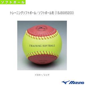 トレーニングソフトボール/回転チェック用(1BJBS85200)『ソフトボール ボール ミズノ』