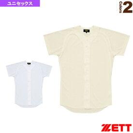 ユニフォームメッシュシャツ/フルオープンスタイル(BU503)『野球 ウェア(メンズ/ユニ) ゼット』