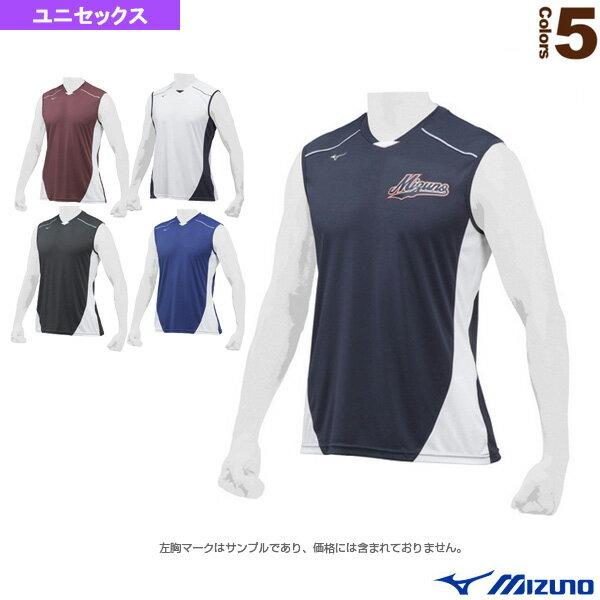 ベースボールシャツ/クールスリーブ(12JC8L23)『野球 ウェア(メンズ/ユニ) ミズノ』