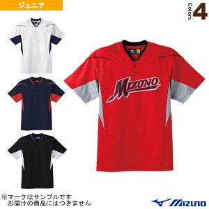 ベースボールシャツ/ハーフボタン/小衿タイプ/ジュニア(52MJ451)『野球 ウェア(メンズ/ユニ) ミズノ』