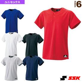 2ボタンベースボールTシャツ/無地(BW1460)『野球 ウェア(メンズ/ユニ) エスエスケイ』