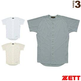 プロステイタス ユニフォームシャツ/フロントオープンスタイル(BU505F)『野球 ウェア(メンズ/ユニ) ゼット』