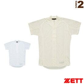 プロステイタス 立衿ユニフォームシャツ/イミテーションオープンスタイル(BU505ST)『野球 ウェア(メンズ/ユニ) ゼット』