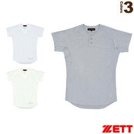 プロステイタス ユニフォームシャツ/プルオーバースタイル(BU515PS)『野球 ウェア(メンズ/ユニ) ゼット』