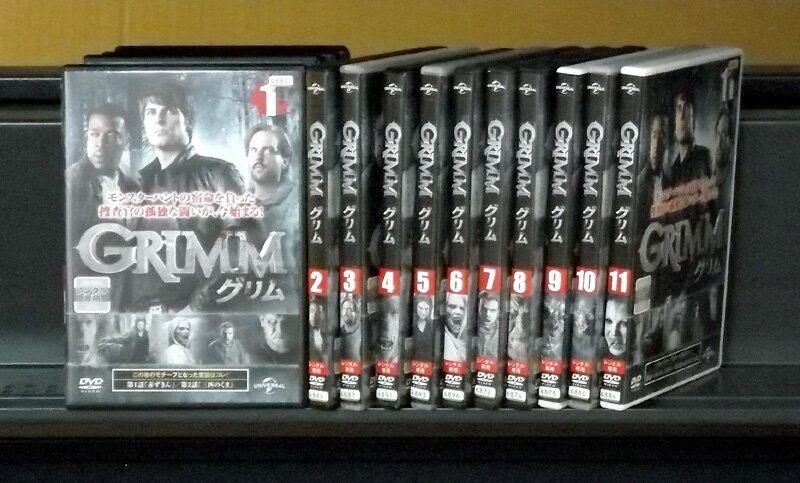GRIMM/グリム 1〜11 (全11枚)(全巻セットDVD) [2011年]|中古DVD【中古】
