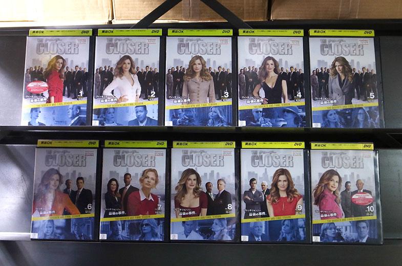 THE CLOSER クローザー 7thシーズン 1〜10 (全10枚)(全巻セットDVD)|中古DVD【中古】【7/13 20時から7/24 10時まで★ポイント10倍★☆期間限定】