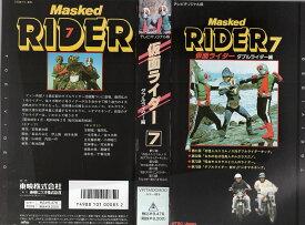【VHSです】仮面ライダー・7 ダブルライダー編 中古ビデオ