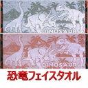 恐竜博士 フェイスタオル 2色 ジャガード織 35cm×88cm 綿100% 日本製